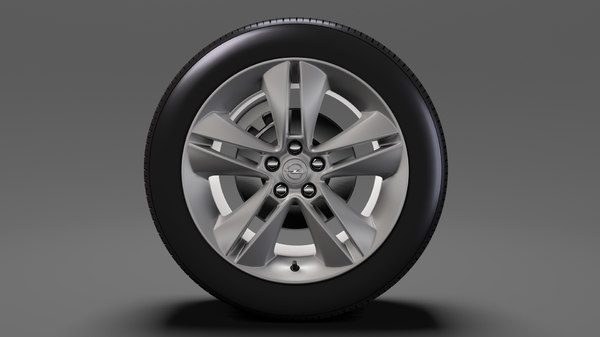 opel combo tour wheel 3D