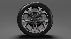 opel cascada wheel 2017 3D model