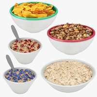 3D cereal bowl