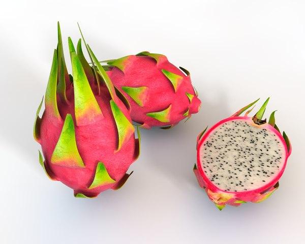 fruit dragon 3D