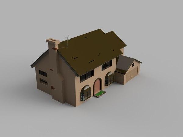home simpson model