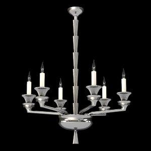 3D delisle papyrus chandelier 13518