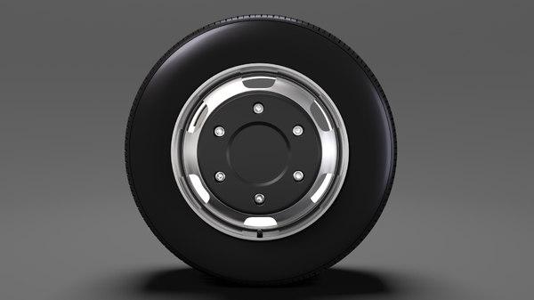 opel movano van wheel 3D