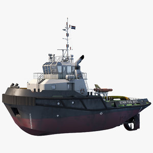 tugboat tug 3D model