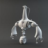character robot model