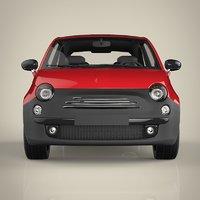 mini car 3D model