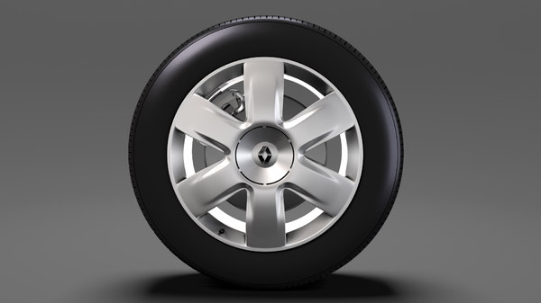 renault kangoo wheel 2017 3D