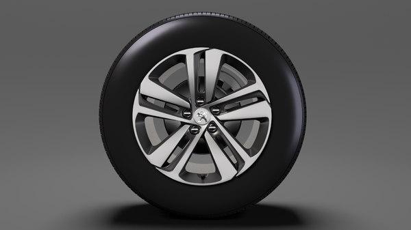 peugeot traveller wheel 2017 model