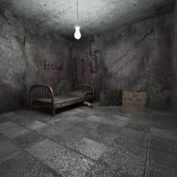 3D scary room