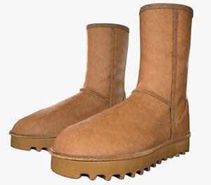 3D boot ugg classic