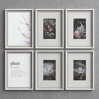 picture frames set -73 3D model