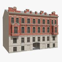 3D classic building