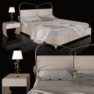bed st tropez imbottito model