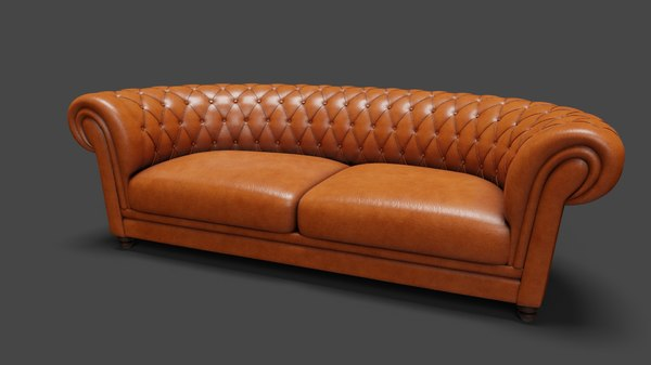 leather sofa model