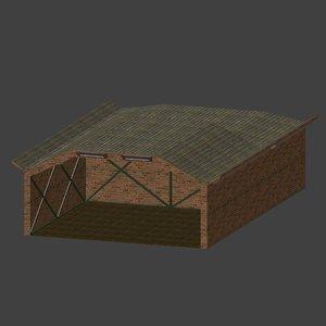 hangar 3D