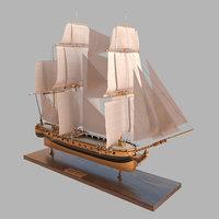 3D ship katrin sail model