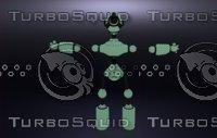 3D model robot cccp