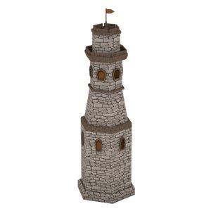3D cartoon tower model
