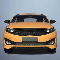 3D luxury car materials