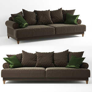 sofa chopin 3D