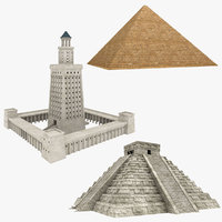 3D egypt egyptian pyramid