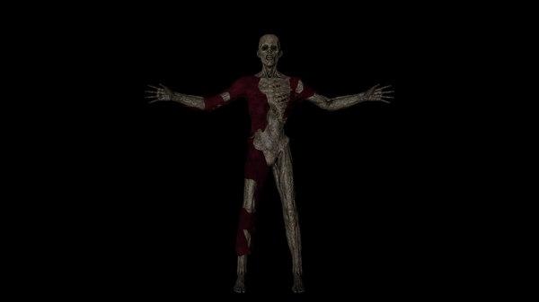mummy corpse 3D model