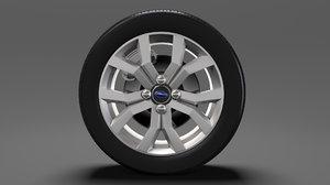 subaru justy rs wheel model