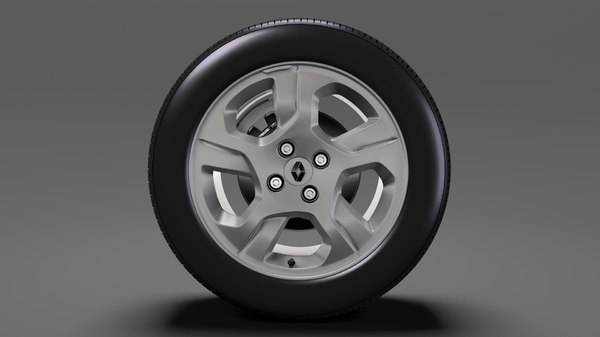 renault logan wheel 2017 3D