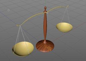 3D model balance law