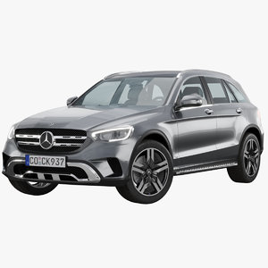 mercedes-benz glc 2019 restyling 3D model