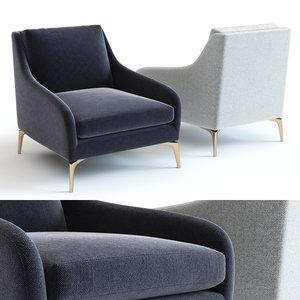 elm alto chair - 3D model