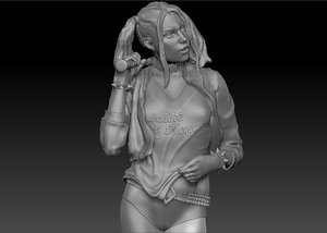 harley quinn model