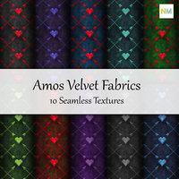 Amos Velvet 10 Seamless Fabric Textures