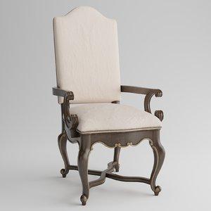 rhapsody armchair 3D model