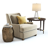 3D bakers colin cab chair table