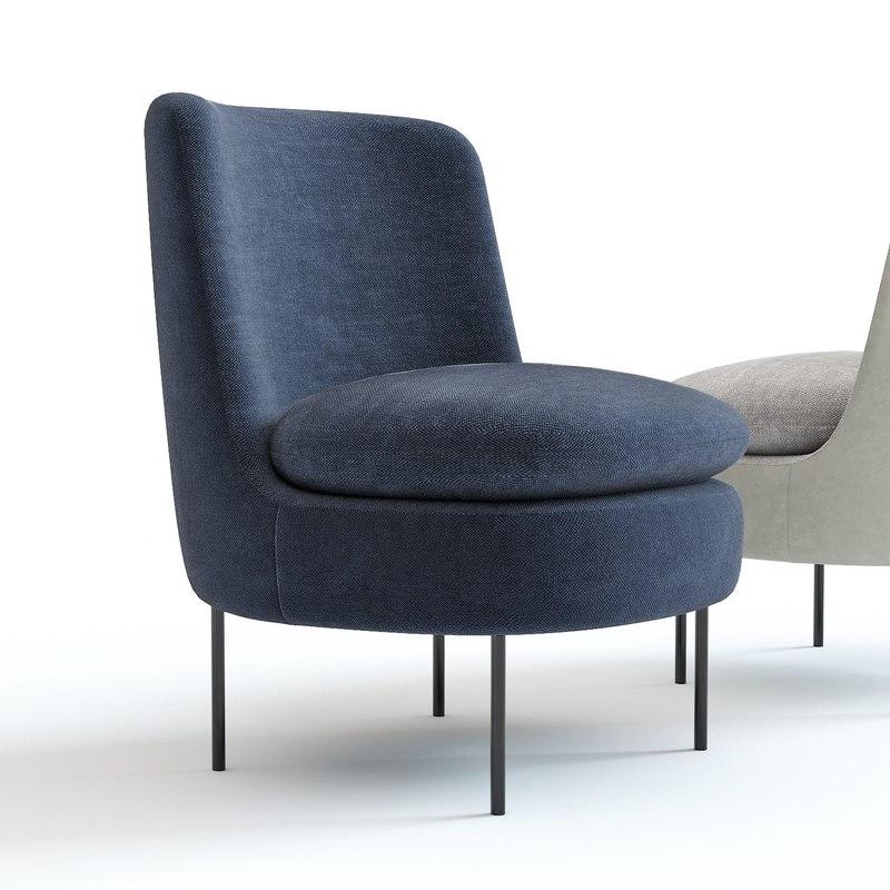 Stupendous West Elm Modern Curved Chair Inzonedesignstudio Interior Chair Design Inzonedesignstudiocom