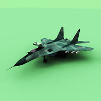 fulcrum russian air 3D