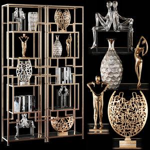 decorative set 38 3D