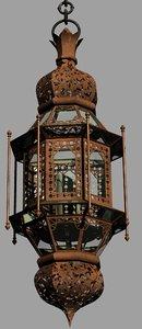 3D model 1001 nights lantern