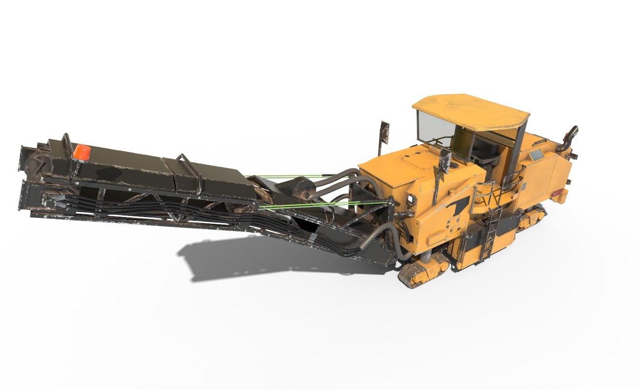 industrial planner 3D model