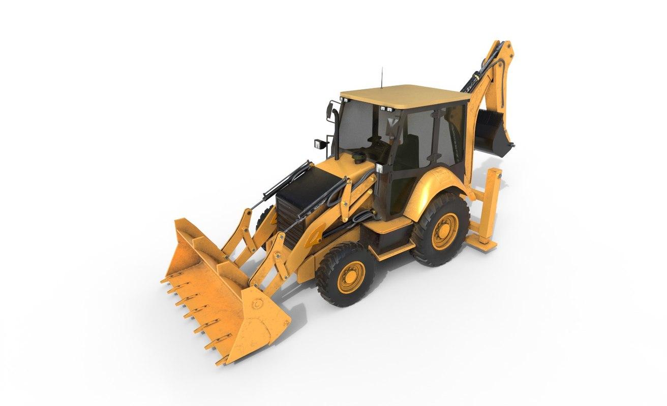 3D industrial loader