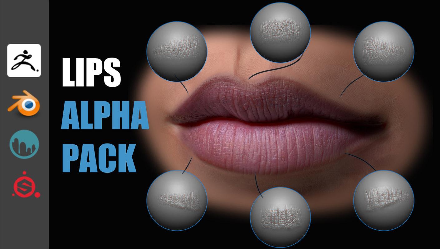 Lips Detail Alpha Pack