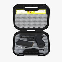 Glock 19 Gen 5 Full Detail and Case Glock
