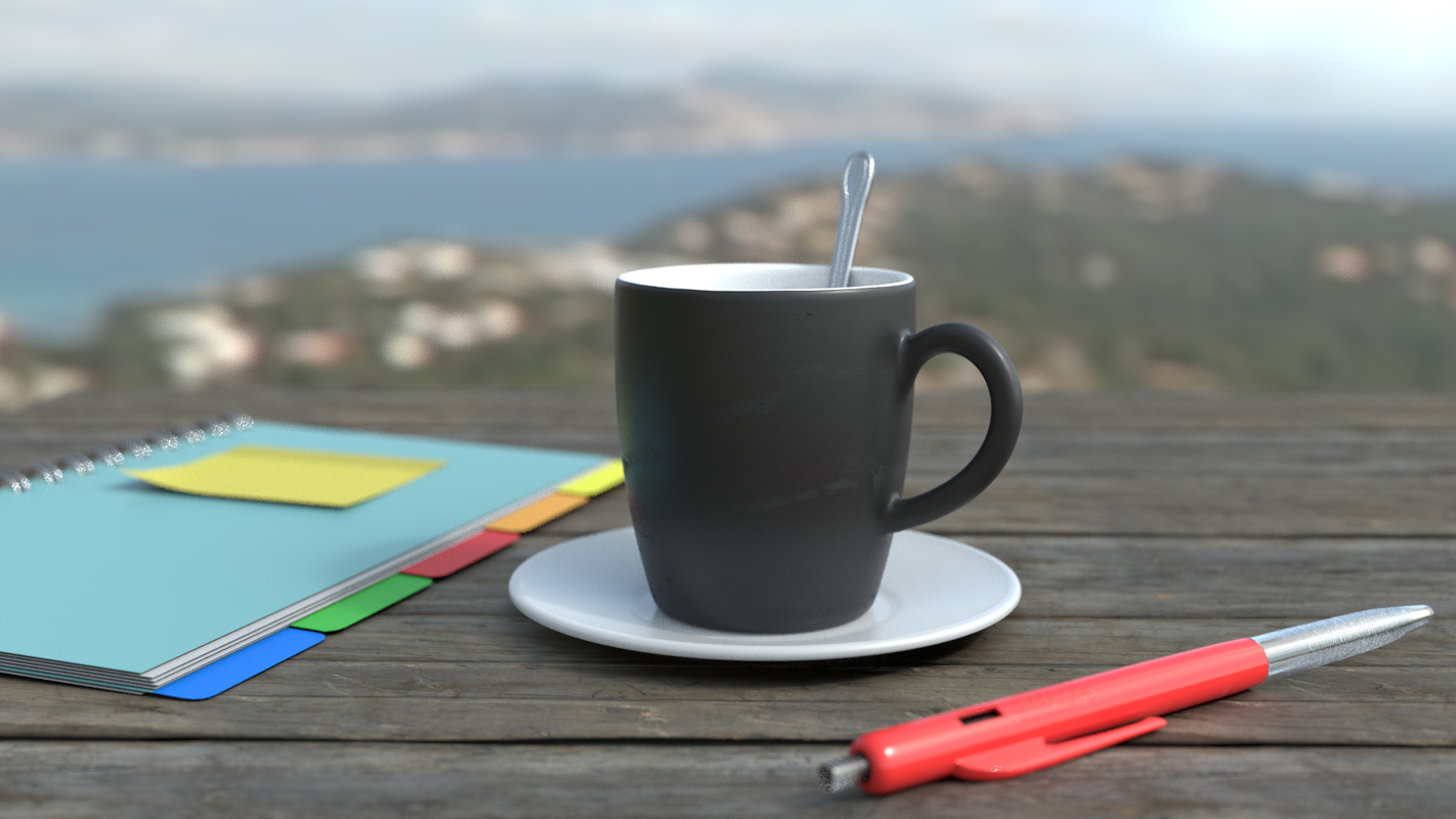 mug pen 3D