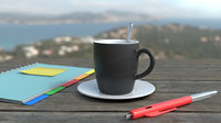 Mug Pen Ringbinder