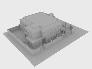 private villa 3D