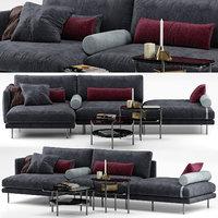 Mies sofa - Calligaris
