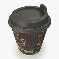 to-go coffee cup 3D model
