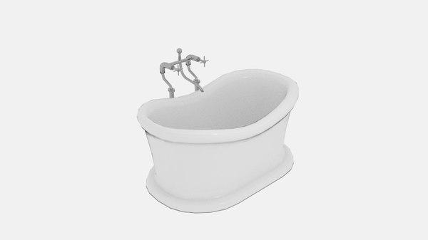 orford bathtub 3D model