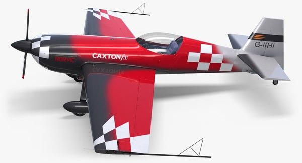 3D model extra 330 race aircraft